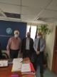 Σύσκεψη εργασίας για το λιμάνι των Αλυκών