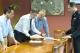 Γρ.Αλεξόπουλος: Σύσκεψη στο γραφείο του Γρηγόρη Αλεξόπουλου για το επικείμενο κύμα κακοκαιρίας