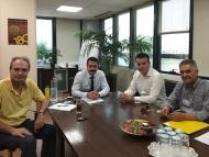 Συνάντηση εργασίας του Αντιπεριφερειάρχη Ενέργειας και Περιβάλλοντος Νικόλαος Μπαλαμπάνης με στελέχη του ΑΔΜΗΕ