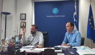 Τηλεδιάσκεψη για τα νέα Τοπικά Πολεοδομικά Σχέδια και τη συμβολή της Περιφέρειας Δυτικής Ελλάδας