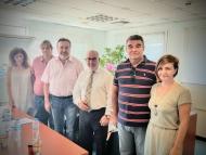 Συνάντηση του Αντιπεριφερειάρχη Παναγιώτη Σακελλαρόπουλου με το ΔΣ του Συλλόγου Υπαλλήλων ΠΕ Αχαΐας