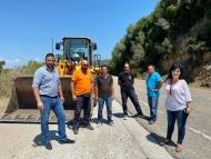 Εργασίες συντήρησης στην εθνική οδό Αντιρρίου - Ιωαννίνων