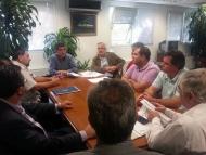 Συνάντηση του Γ. Αλεξόπουλου με Εμπορικούς Συλλόγους για τη λειτουργία καταστημάτων τις Κυριακές