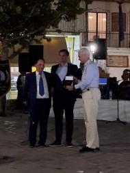 Ο Αντιπεριφερειάρχης Φωκίωνας Ζαΐμης τιμήθηκε από το Σύλλογο Κλειτορολευκασίων