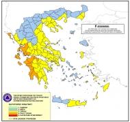 Πολύ υψηλός κίνδυνος πυρκαγιάς στη Δυτική Ελλάδα το Σάββατο 31 Ιουλίου
