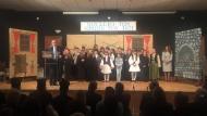Στο Θέρμο ο Περιφερειάρχης Απόστολος Κατσιφάρας - Παρακολούθησε τη σχολική γιορτή για την 25η Μαρτίου και επισκέφθηκε το υπό ανέγερση Λύκειο Θέρμου