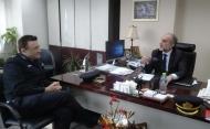 Συνάντηση του Περιφερειάρχη Απόστολου Κατσιφάρα με το νέο Διοικητή των Πυροσβεστικών Υπηρεσιών Δυτικής Ελλάδος