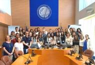 Σε ρόλο ευρωβουλευτή μαθητές Λυκείων της Πάτρας στο πλαίσιο της «Προσομοίωσης του Ευρωπαϊκού Κοινοβουλίου», στην αίθουσα του Περιφερειακού Συμβουλίου Δυτικής Ελλάδας