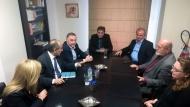Απόστολος Κατσιφάρας: «Όλοι μαζί μπορούμε να αλλάξουμε τα παραγωγικά και οικονομικά δεδομένα» - Επίσκεψη στο Επιμελητήριο Αιτωλοακαρνανίας