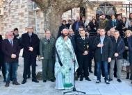 Ο Αντιπεριφερειάρχης Οικονομικής Πολιτικής, Π. Σακελλαρόπουλος, στην εκδήλωση μνήμης στα Σελλά