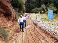 Έργο για την αντιμετώπιση των επικίνδυνων κατολισθήσεων στο Μέγα Σπήλαιο προϋπολογισμού 4,3 εκ. ευρώ – Επίσκεψη Περιφερειάρχη Δυτικής Ελλάδας και Δημάρχου Καλαβρύτων στο σημείο κατολίσθησης