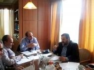 Συνάντηση Περιφερειάρχη με Υφυπουργό Εργασίας Β. Κεγκέρογλου