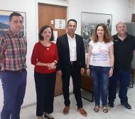 Συνάντηση του Αντιπεριφερειάρχη Αγροτικής Ανάπτυξης Κωνσταντίνου Μητρόπουλου με το Γενικό Γραμματέα ΥΠΑΑT για θέματα Κτηνοτροφίας και Δακοκτονίας
