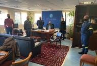 Σύσκεψη υπό τον Αντιπεριφερειάρχη Περιφερειακής Ενότητας Αχαΐας, Χαράλαμπο Μπονάνο, για την κακοκαιρία «Μήδεια»