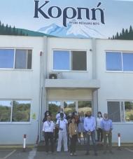 Επίσκεψη της Αντιπεριφερειάρχη Π.Ε. Αιτωλοακαρνανίας Μαρίας Σαλμά σε επιχειρήσεις στο Δήμο Ακτίου - Βόνιτσας