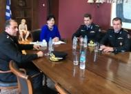 Συνάντηση της Αντιπεριφειάρχη Π.Ε. Αιτωλοακαρνανίας Μ. Σαλμά με τη νέα Διοίκηση του Πυροσβεστικού Σώματος