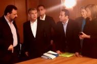 Στη συνάντηση της ΕΝΠΕ με τον Υπουργό Αγροτικής Ανάπτυξης και Τροφίμων Σταύρου Αραχωβίτη ο Αντιπεριφερειάρχης Κωνσταντίνος Μητρόπουλος