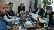 Συνεργασία του Περιφερειάρχη Απόστολου Κατσιφάρα με το δήμαρχο Γιώργο Παπαναστασίου για έργα που αναβαθμίζουν το Αγρίνιο