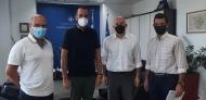 Συνάντηση του Περιφερειάρχη Νεκτάριου Φαρμάκη με τη νέα Διοίκηση του Επιστημονικού Πάρκου Πατρών