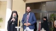 Ο Νεκτάριος Φαρμάκης σε Αγιασμούς σχολείων της Πάτρας - «Από τα σχολεία μας ξεκινάνε όλα…»