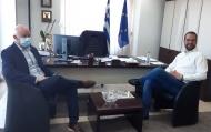 Στον Περιφερειάρχη Νεκτάριο Φαρμάκη ο πρώην Πρωθυπουργός και βουλευτής Αχαΐας Γιώργος Παπανδρέου