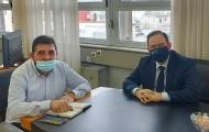 Ανάδειξη της Ηλείας με το τρένο στις ράγες – Συνάντηση Ν. Κοροβέση και Θ. Κοτταρά για την ανάπτυξη του σιδηροδρόμου
