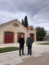 Προχωρούν οι διαδικασίες για τη ριζική ανακαίνιση του Τρικούπειου Πολιτιστικού Κέντρου στην Ι.Π. Μεσολογγίου