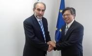 Δυτική Ελλάδα - Ενδιαφέρον από το Βιετνάμ για τα αγροτικά προϊόντα - Συνάντηση του Πρέσβη με τον Περιφερειάρχη Απ. Κατσιφάρα