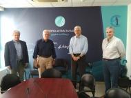 Συνάντηση του Αντιπεριφερειάρχη Φωκίωνα Ζαΐμη με τον Πρόεδρο του Ελληνικού Ανοικτού Πανεπιστημίου Οδυσσέα - Ιωάννη Ζώρα