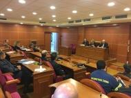 Συνεδρίαση του συντονιστικού οργάνου πολιτικής προστασίας ΠE Αιτ/νίας - Απολογισμός Αντιπυρικής Περιόδου και Σχεδιασμός για την Αντιμετώπιση Κινδύνων ενόψει της χειμερινής περιόδου