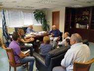 Συναντήσεις Αντιπεριφερειάρχη Π.Ε. Αχαΐας Χ. Μπονάνου με εκπροσώπους συνοικιών της Πάτρας