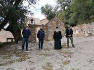 Την Ιερά Μονή Ομπλού επισκέφθηκε ο Φωκίων Ζαΐμης