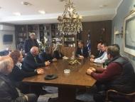 Επίσκεψη του υποψήφιου ευρωβουλευτή του Κινήματος Αλλαγής Νίκου Παπανδρέου στο Διοικητήριο της Περιφερειακής Ενότητας Αιτωλοακαρνανίας