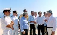 Πέντε μήνες νωρίτερα ολοκληρώθηκε το νέο λιμάνι Αιγίου