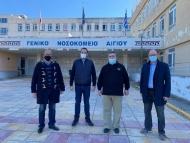 Νέα έργα ύψους 1,2 εκατ. ευρώ για την ενίσχυση των μονάδων Υγείας της Δυτικής Ελλάδας Εισερχόμενα