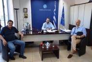 Σύσκεψη μεταξύ Περιφέρειας Δυτικής Ελλάδας και Δήμου Πατρέων για την αποκατάσταση του παραλιακού μετώπου της Πάτρας