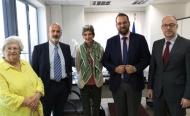Συνάντηση του Περιφερειάρχη Δυτικής Ελλάδας, Νεκτάριου Φαρμάκη με την Πρέσβη της Βρετανίας στην Ελλάδα, Κέϊτ Σμιθ