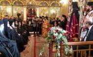 Ο Περιφερειάρχης, Νεκτάριος Φαρμάκης, στην τελετή ενθρόνισης του νέου Μητροπολίτη Καλαβρύτων και Αιγιαλείας, κ.κ. Ιερωνύμου