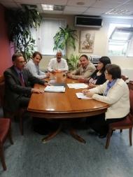 Συνάντηση εργασίας του Αντιπεριφερειάρχη Π.Ε. Αχαΐας, Χαράλαμπου Μπονάνου, για την εφαρμογή του αντικαπνιστικού νόμου