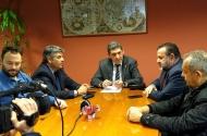 Συνάντηση του Αντιπεριφερειάρχη Αχαΐας Γρηγόρη Αλεξόπουλου με τον Βουλευτή Βασίλη Κεγκέρογλου