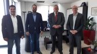 Συνάντηση του Περιφερειάρχη με εκπροσώπους του Τμήματος AHEPA HJ 25