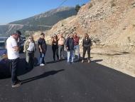 Η Αντιπεριφερειάρχης Χριστίνα Σταρακά σε έργα που εκτελούνται στην Ορεινή Ναυπακτία