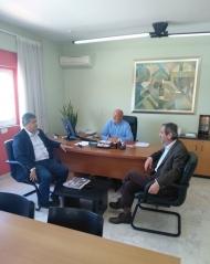 Δημήτρης Δριβίλας: Σειρά συναντήσεων με διοικητικά στελέχη της Περιφέρειας