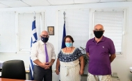 Συνάντηση Αντιπεριφερειάρχη Π. Σακελλαρόπουλου με το προεδρείο του Συλλόγου «Ερυθρά Γαία»