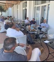 Συνάντηση Φωκίωνα Ζαΐμη με επαγγελματίες του τουρισμού - Προσεχώς και νέο πρόγραμμα εκπαίδευσης υπαλλήλων