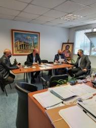 Συνάντηση για ζητήματα ανάπτυξης του Δήμου Ερυμάνθου