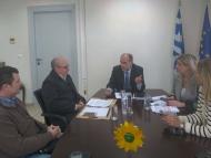 Συνάντηση του Περιφερειάρχη με τον Σύνδεσμο Πτυχιούχων Εργοληπτών Αχαΐας