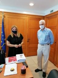 Συνάντηση Φ. Ζαΐμη με Μ. Συρεγγέλα στο πλαίσιο του προγράμματος «Περιφέρεια 4.0»