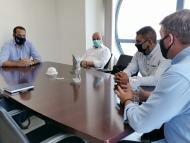 Συνάντηση του Περιφερειάρχη Νεκτάριου Φαρμάκη με αντιπροσωπεία της Πανελλαδικής Συνομοσπονδίας Ελλήνων Ρομά «Ελλάν Πασσέ»