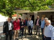 Επίσκεψη του Περιφερειάρχη, Νεκτάριου Φαρμάκη, σε έργα της περιοχής των Καλαβρύτων